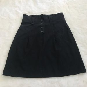 French Connection A Line pinstripe skirt (binSK2)